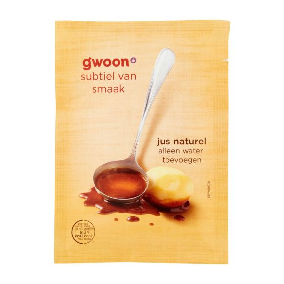 g'woon Jus naturel product photo