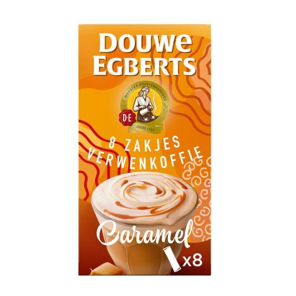 Douwe Egberts Latte caramel oploskoffie product photo