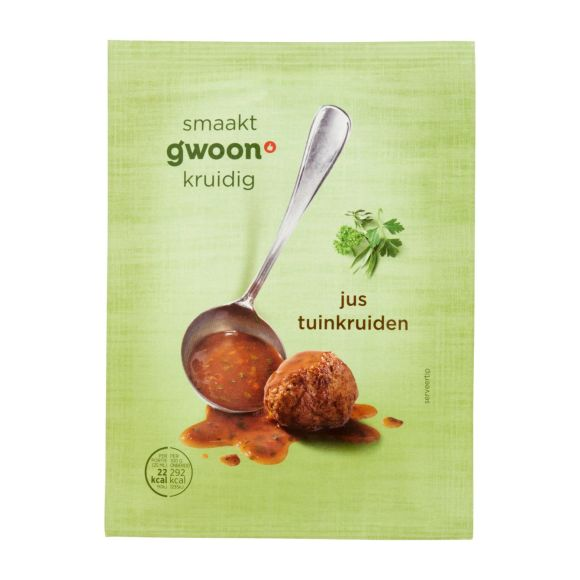 g'woon Jus tuinkruiden product photo