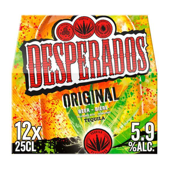 Desperados Original bier multipack fles 12x25cl product photo