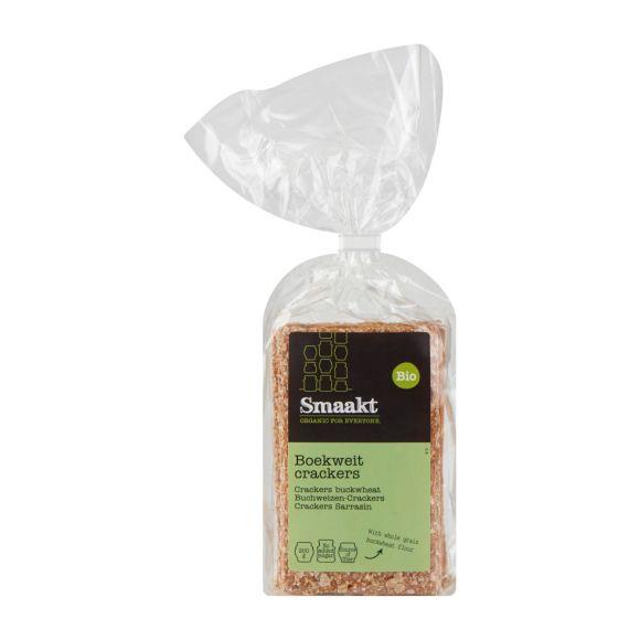 Smaakt Crackers Boekweit biologisch product photo
