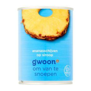 g'woon Ananasschijven op siroop product photo
