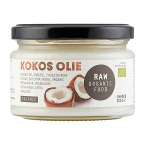 RAW Kokosolie product photo