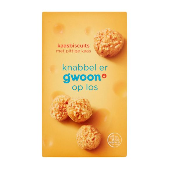 g'woon Kaasbiscuits product photo