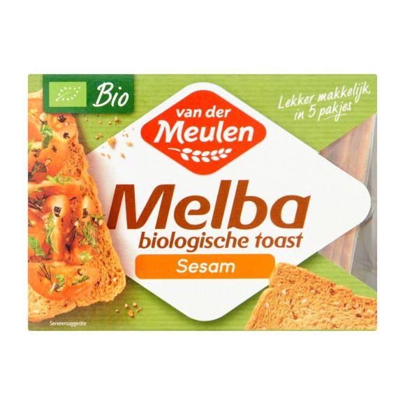 Van der Meulen Biologische toast sesam product photo