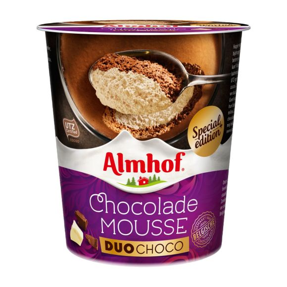 Almhof chocolademousse duo choco product photo