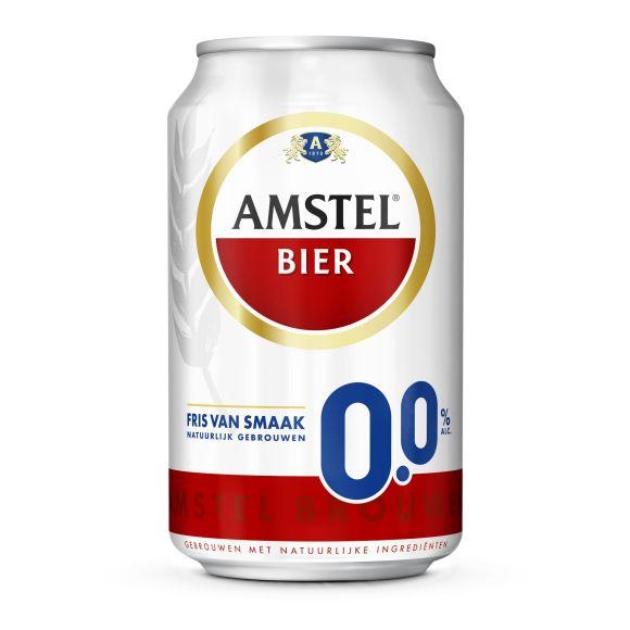 Amstel 0.0% bier blik product photo