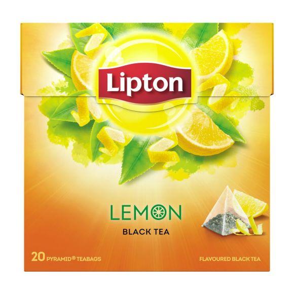Lipton  Lemon zwarte thee product photo