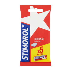 Stimorol Orginal kauwgom suikervrij 5-pack product photo