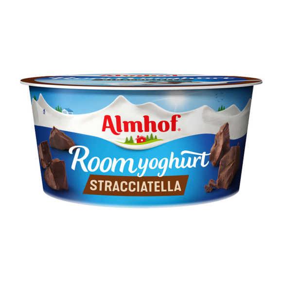 Almhof roomyoghurt stracciatella 150g product photo