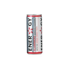 Slammers Energy drink blik 24 x 25 cl product photo