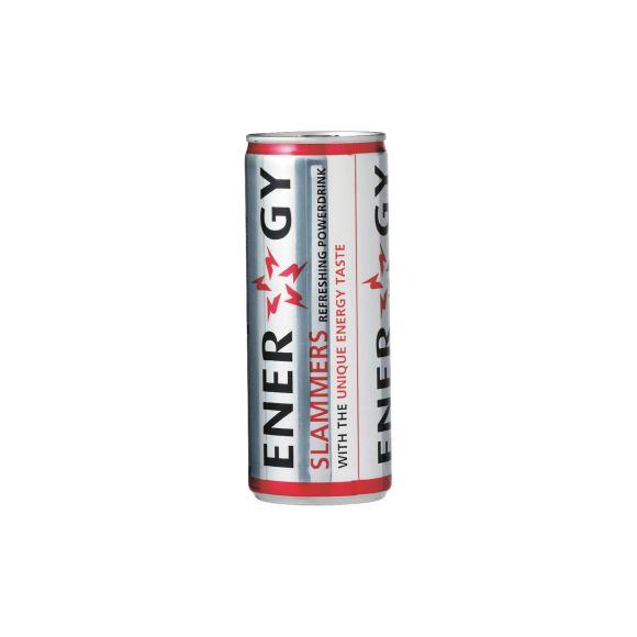 Slammers Energy drink blik 24 x 25 cl product photo
