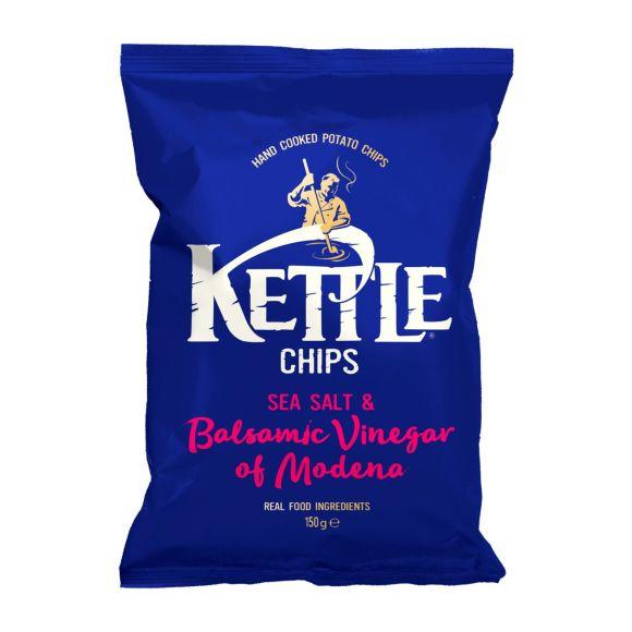 Kettle Chips Sea Salt & Balsamic Vinegar product photo