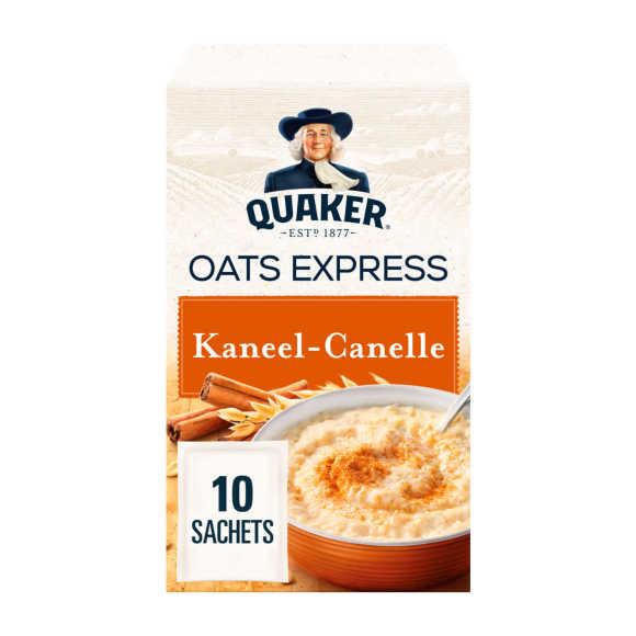 Quaker Havermout oat express kaneel 10 stuks product photo