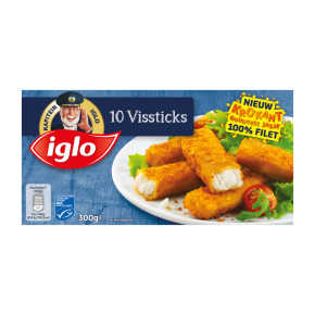 Iglo Vissticks 10 stuks product photo