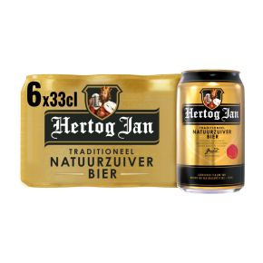 Hertog Jan Bier blik 6 x 33 cl product photo