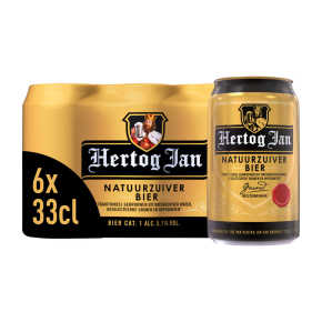 Hertog Jan Bier blik 6 x 33 cl product photo