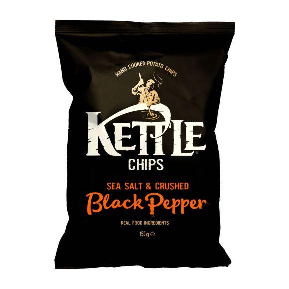 Kettle Chips Sea Salt & Crushed Black Pepper product photo
