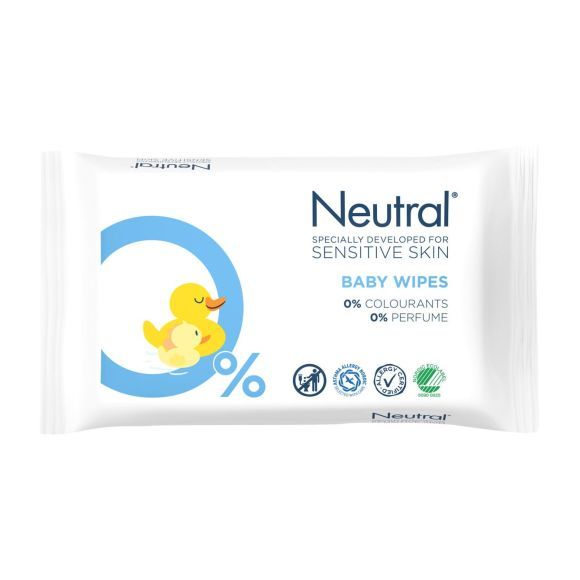 Neutral  Parfumvrij Baby Billendoekjes product photo