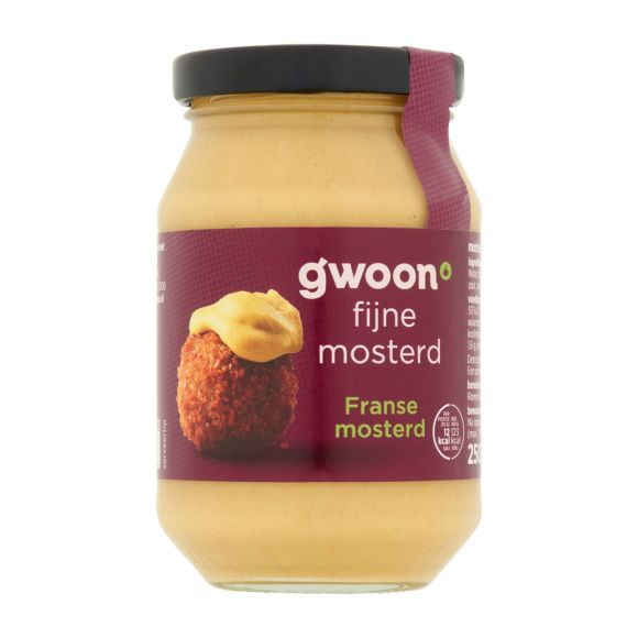 g'woon Franse mosterd product photo