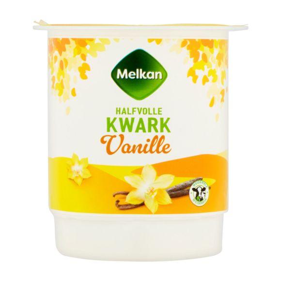 Melkan Kwark vanille halfvol product photo