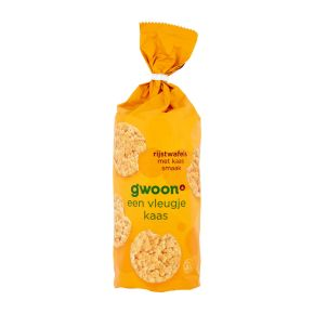 g'woon Rijstwafels kaas product photo