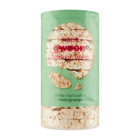 g'woon Dikke rijstwafels meergranen product photo