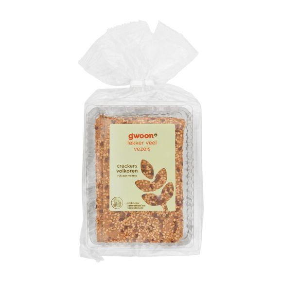g'woon Crackers volkoren product photo