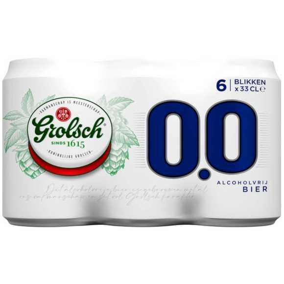 Grolsch 0.0% blik 6 x 33 cl product photo