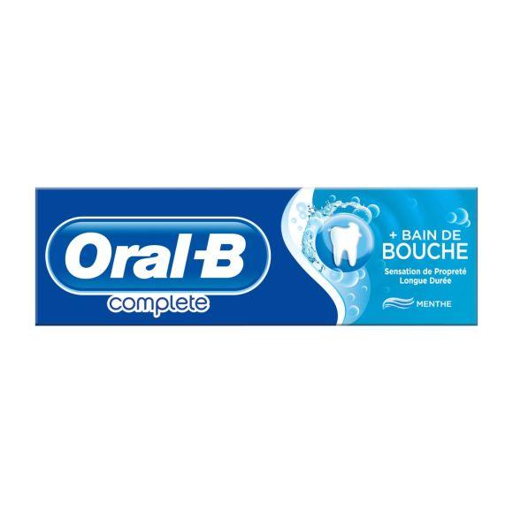 Oral-B Complete Plus met mondwater tandpasta product photo