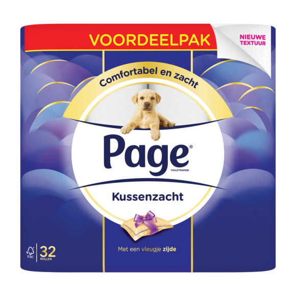 Page Toiletpapier kussenzacht product photo