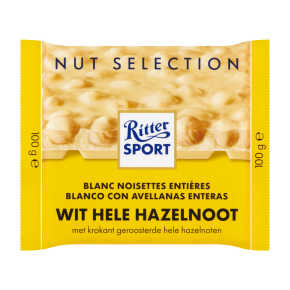Ritter Sport Wit hele hazelnoot product photo