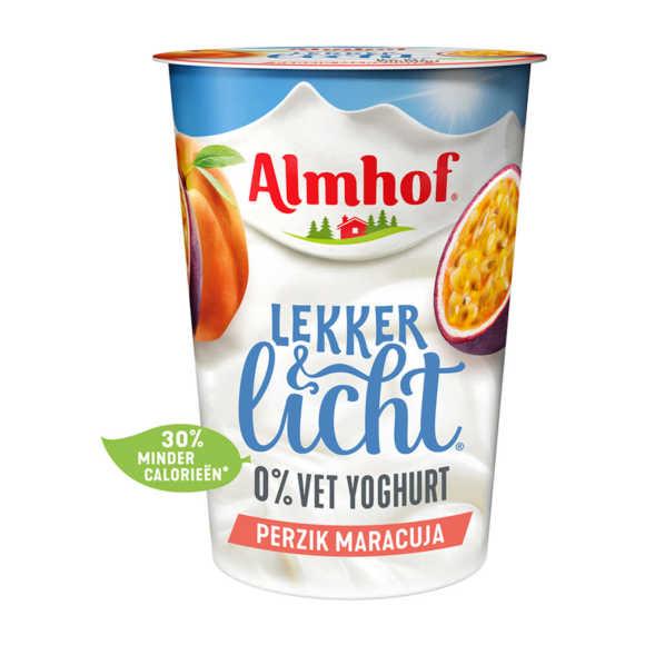 Almhof Lekker & Licht yoghurt perzik maracuja product photo