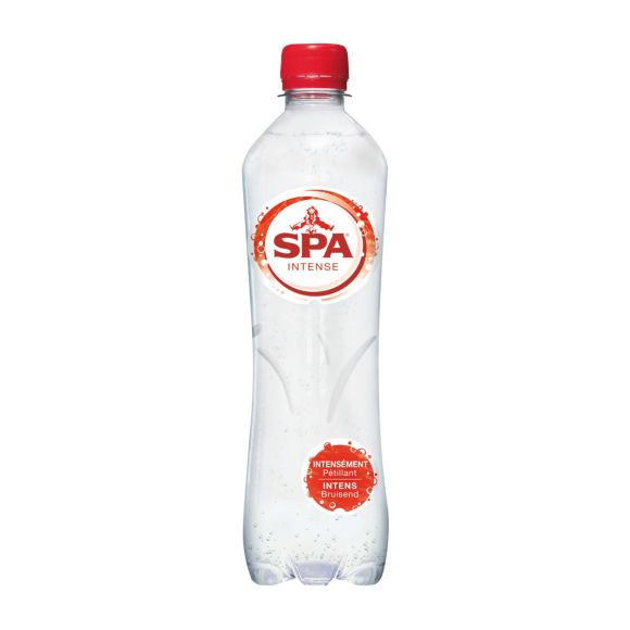 Spa Intense bruisend mineraalwater fles product photo
