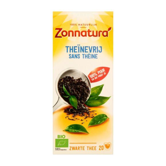 Zonnatura Theïnevrije zwarte thee product photo