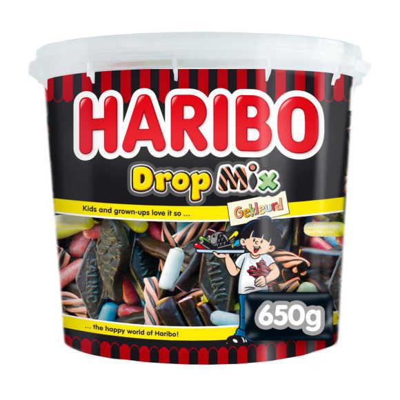 Haribo gekleurde drop mix product photo