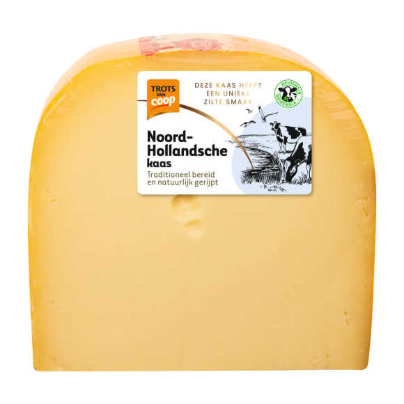 Trots van Coop Noord-Hollandsche jong belegen 48+ kaas stuk product photo