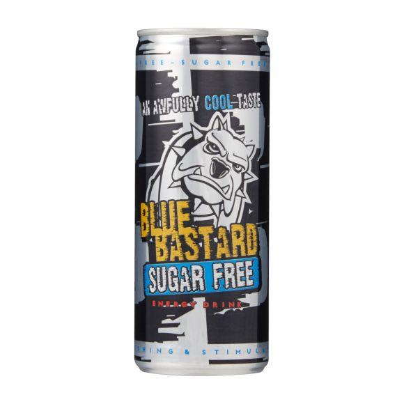 Blue Bastard Energy drink sugar free blik product photo