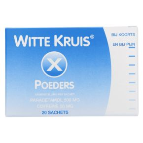 Witte Kruis Poeder 500/50 mg product photo