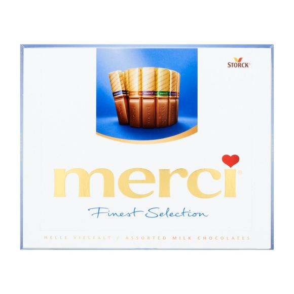 Merci Finest selection melk product photo