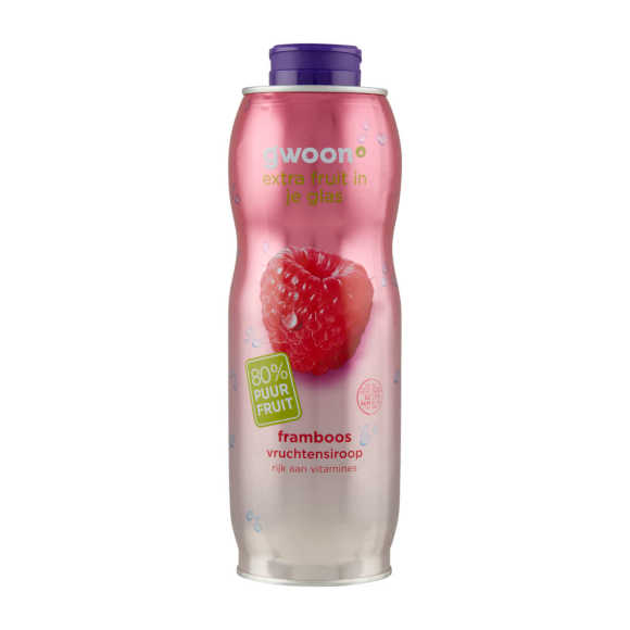g'woon Siroop framboos product photo
