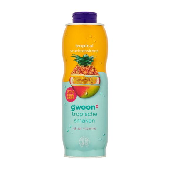 g'woon Tropical vruchtensiroop product photo