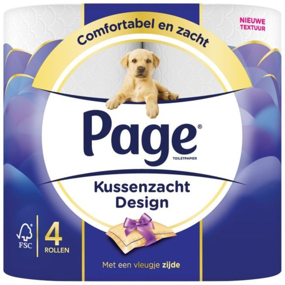 Page Kussenzacht Design 4-rol product photo