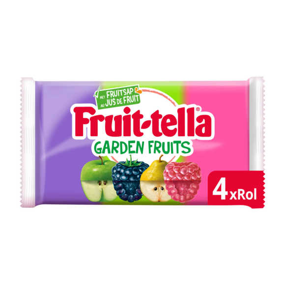 Fruittella Garden Fruits 4-pack product photo