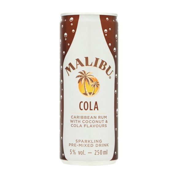 Malibu & cola blik product photo