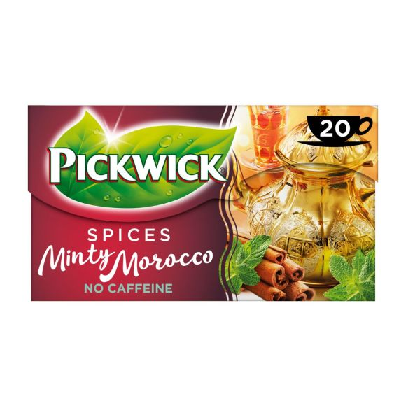 Pickwick Spices minty morocco zwarte thee product photo