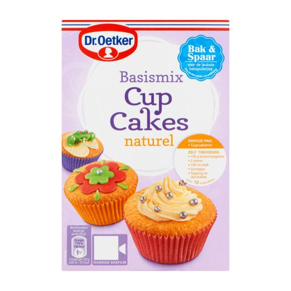 Dr. Oetker Mix voor Cupcakes Naturel product photo