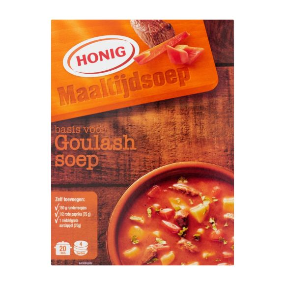 Honig Maaltijdsoep goulashsoep product photo