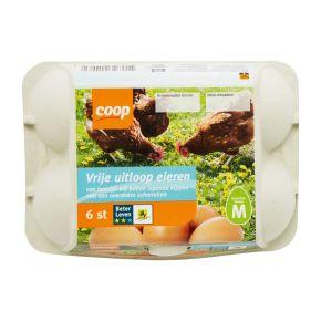 Coop Vrije uitloop eieren maat M product photo