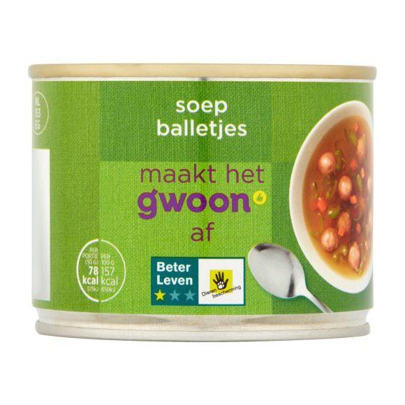 g'woon soepballetjes product photo